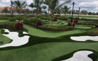 Golf Entertainment-professional 36-holes-Pavilion-ice cream-simulators